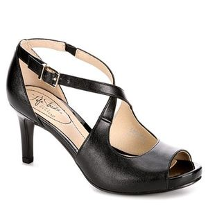 New Life Stride Women's Maria Black Vinci Heel